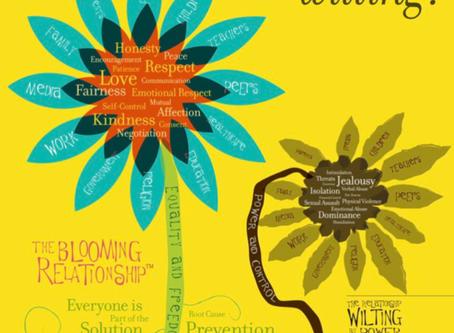 Blooming vs. Wilting Flower