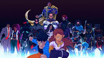Concept Moon Studio Character Line Up BA
