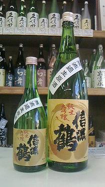 信濃鶴 純米大吟醸 無濾過生原酒