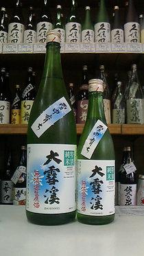 大雪渓 雪中育ち 特別純米 無濾過生原酒