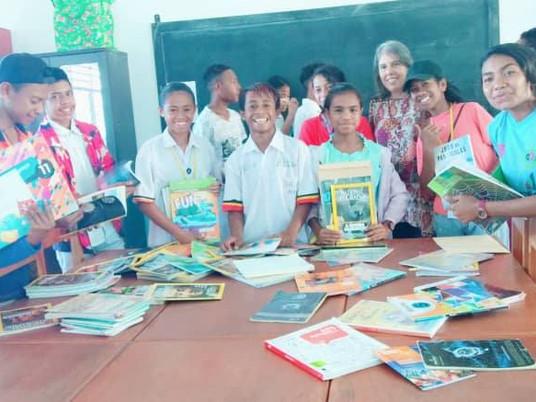 Livros para Timor