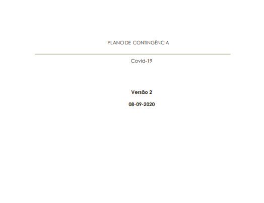 Plano de Contingência Covid-19 (Atualização 08-09-2020)