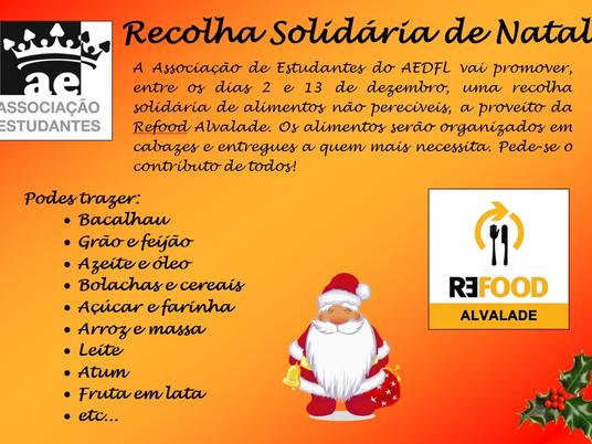 Recolha Solidária de Natal | REFOOD Alvalade