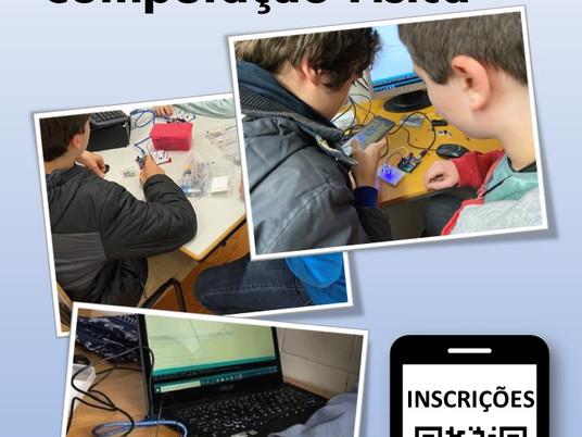 """Inscrições nos Workshops """"Programação e Computação Física"""" 2020/2021"""