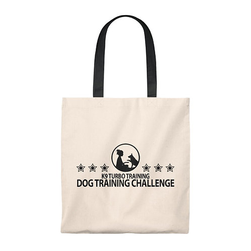 K9 Turbo Dog Training Challenge Tote Bag