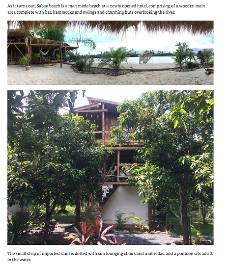 Sabay Beach Tree House