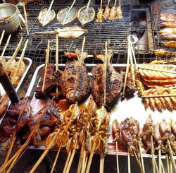BBQ Food in Kampot