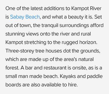 Sabay Beach Culture Trip