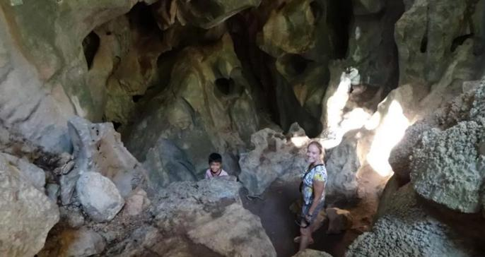 Caves in Kampot