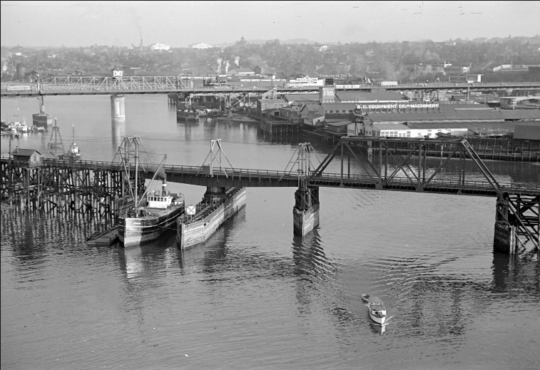 Vancouver's False Creek Industrial Area before Redevelopment, Vancouver Police Museum