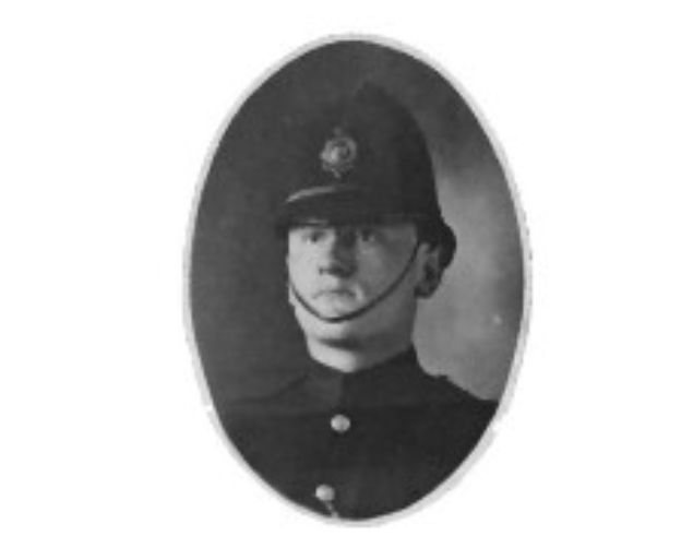 VPD Constable John Elliot, killed in WWI