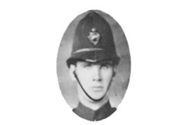 VPD Constable David Angus Morrison, killed in WWI