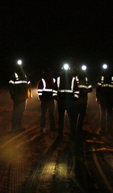 Group headlamps in mine.JPG