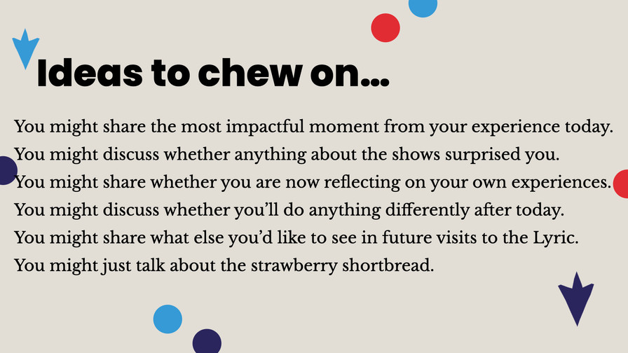 Ideas to chew on