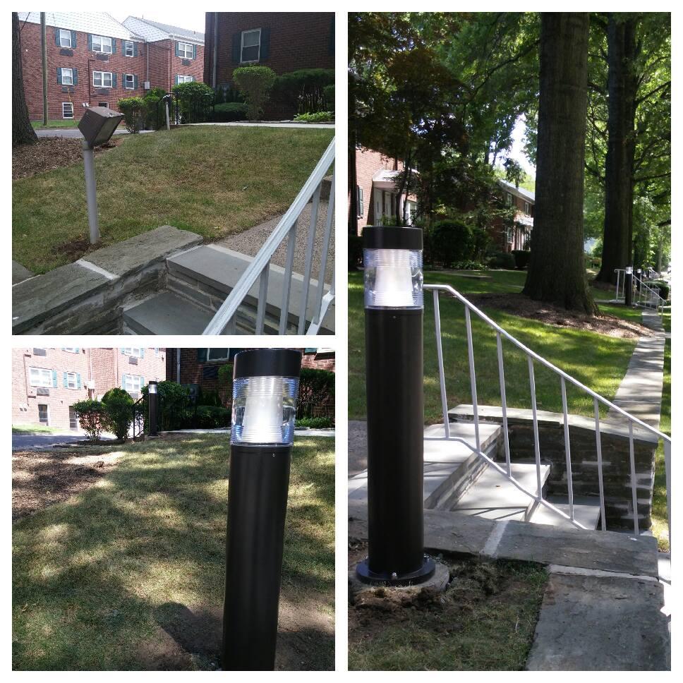 Outdoor Fixture install