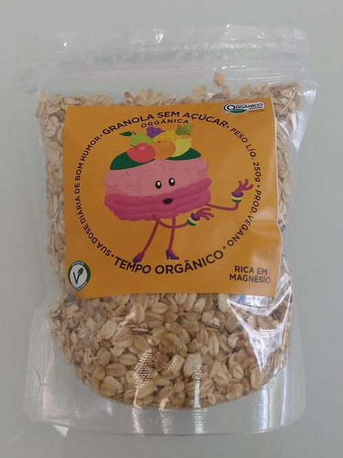Granola Sem Açucar Orgânica