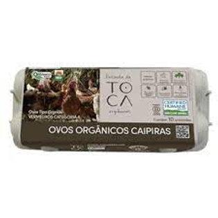 Ovos Caipiras (10 unids) - Orgânico