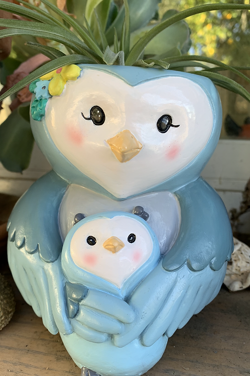 "Owl Mom & Baby - 5.5"""