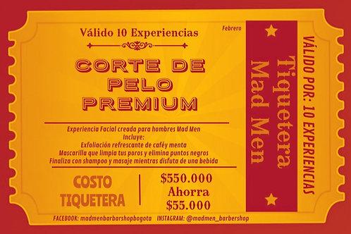 Tiquetera Corte de Pelo Premium