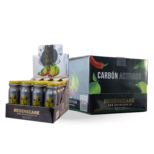 Shot Carbón Activado / Bebida Funcional