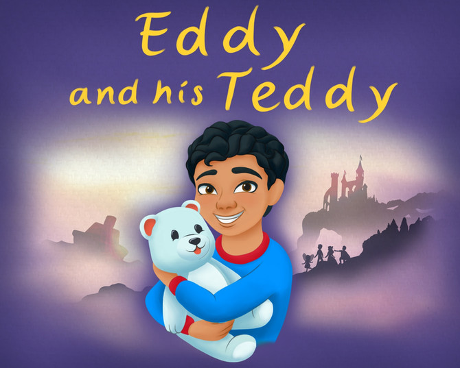 Eddy and his Teddy Book Cover