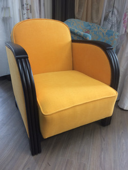 renovation fauteuil style annees 30