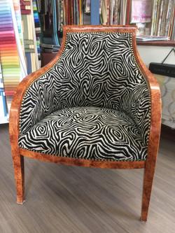 fauteuil bergere moderne