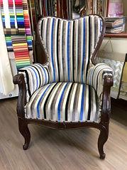 fauteuil après restauration