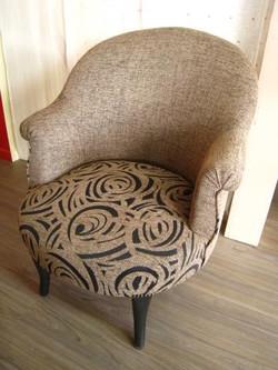 restauration fauteuil crapaud