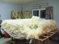 fabrication matelas de laine