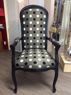 restauration fauteuil voltaire