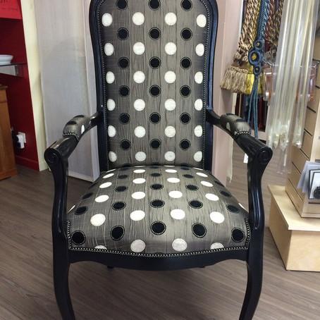 Rénovation d'un fauteuil Voltaire