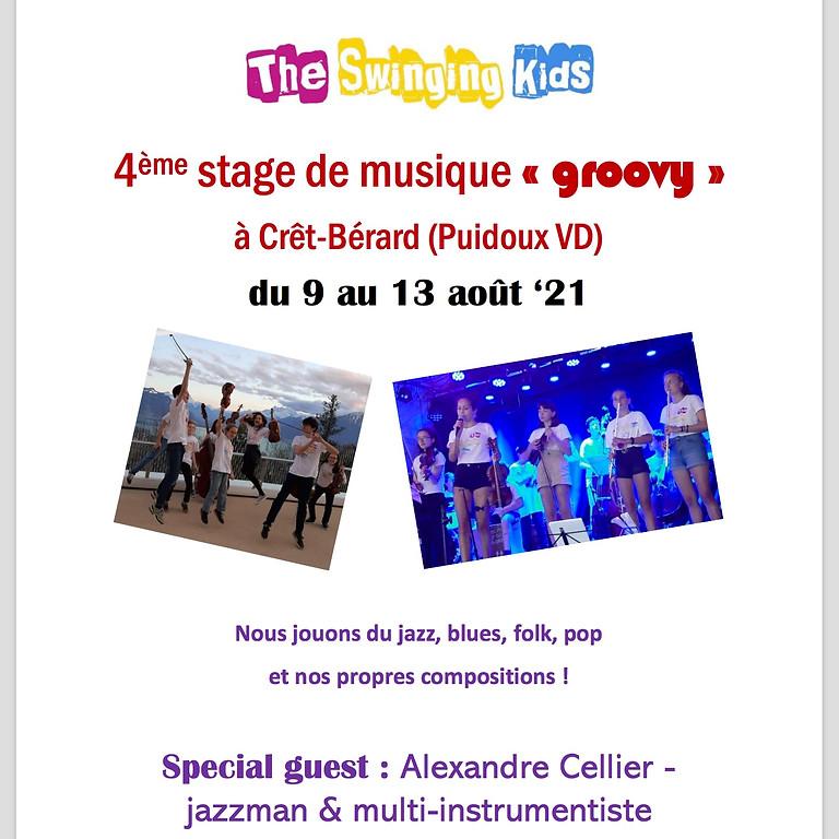 Stage de musique «groovy» avecThe Swinging Kids