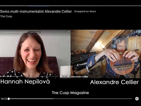 Live interview (The Cusp Magazine 17.11.2020)
