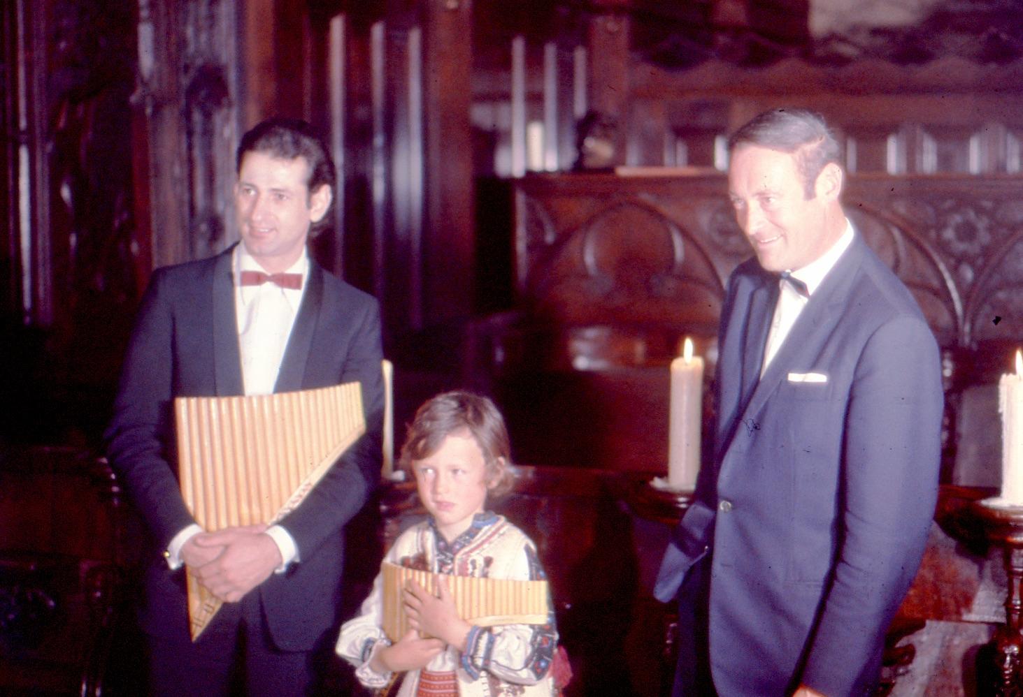 Georghe Zamfir Alexandre et Marcel