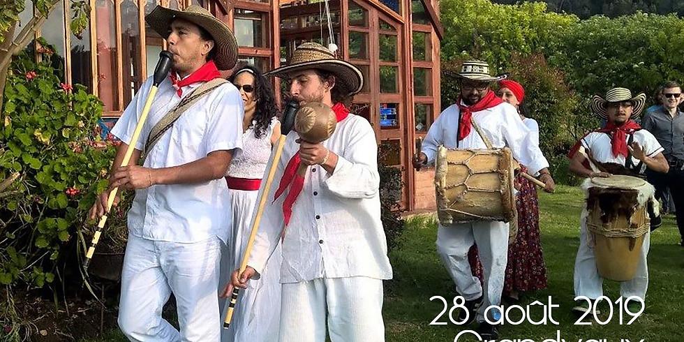 Soirée colombienne à Grandvaux avec Tierra Caliente