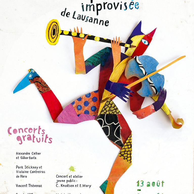 Alexandre Cellier & Gàbor Barta 15.8 concert + 16.8 stage d'impro