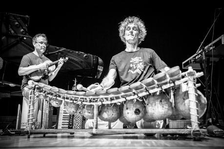 Alexandre Cellier (balafon) & Gabor Barta (violon)
