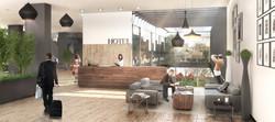 2015- LOBBY HOTEL AEROPUERTO DE TIJUANA (MEXICO)