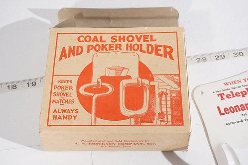 Advertising Coal Shovel And Poker Holder