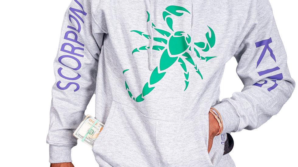 Gray Scorpion King Jogger Set