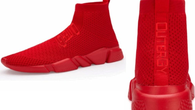OUTERGY KICKS (ALL OVER RED)