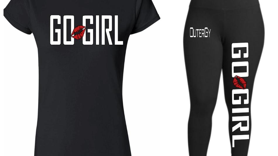 GO GIRL OUTERGY LEGGINS SET