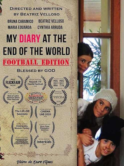 MY DIARY AT THE END OF THE WORLD: FOOTBALL EDITION WED. 7.28.21 11AM BLOCK