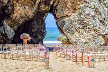My Wedding Ceremony Portugal - beach wed