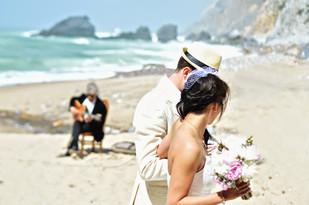 Beach Wedding Ceremony by Lisbon Wedding