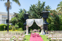 garden wedding ceremony in Lisbon - Lisb