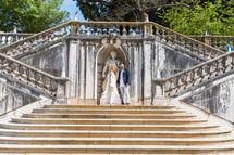 Elopement ceremony by lisbon wedding cel