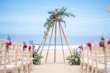 beach wedding celebrant by Lisbon Weddin