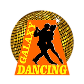 logo dancing galaxy